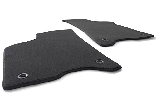 kh Teile Fußmatten passend für Lupo 6X 6E Velours Automatten inkl. Befestigung Drehknebel