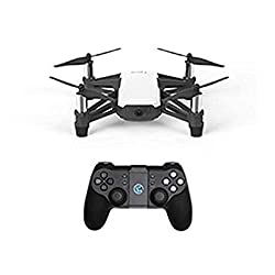 Equipped with a high-quality image processor, the Tello drone shoots incredible photos and videos. Even if you don't know how to fly, you can record pro-level videos with EZ Shots and share them on social media from your smartphone. Camera features 5...
