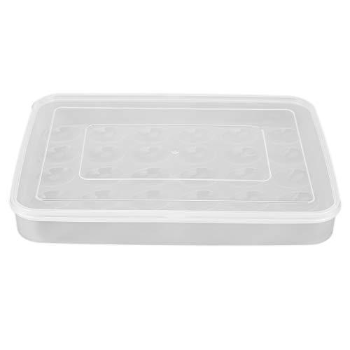 NEYOANN 1 unids 30 rejillas de gran capacidad portátil casa picnic plástico huevo caja titular almacenamiento contenedor nevera