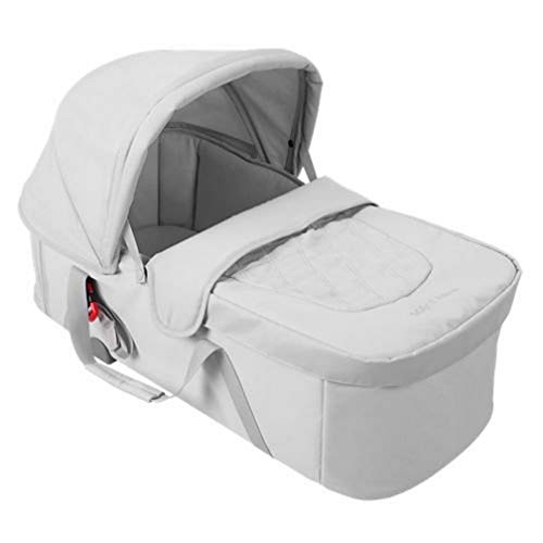 Maclaren Capazo XLR, Entorno Plano adecuado para Recién Nacidos de hasta 20Lb /25, 6In Pulgadas, forro transpirable suave, colchón impermeable acolchado, se adapta XLR, Plata