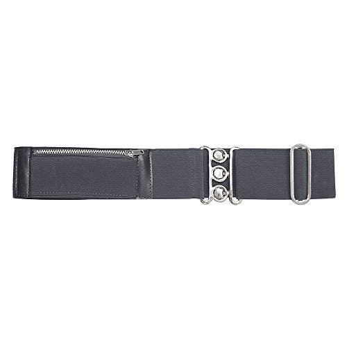 Direct Schoolwear 7224 Gürtel mit verstecktem Geldfach Gr. Einheitsgröße, grau