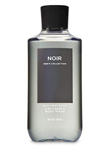 Bath & Body Works Men's Collection 2 in 1 Hair and Body Wash Noir, 295 ml