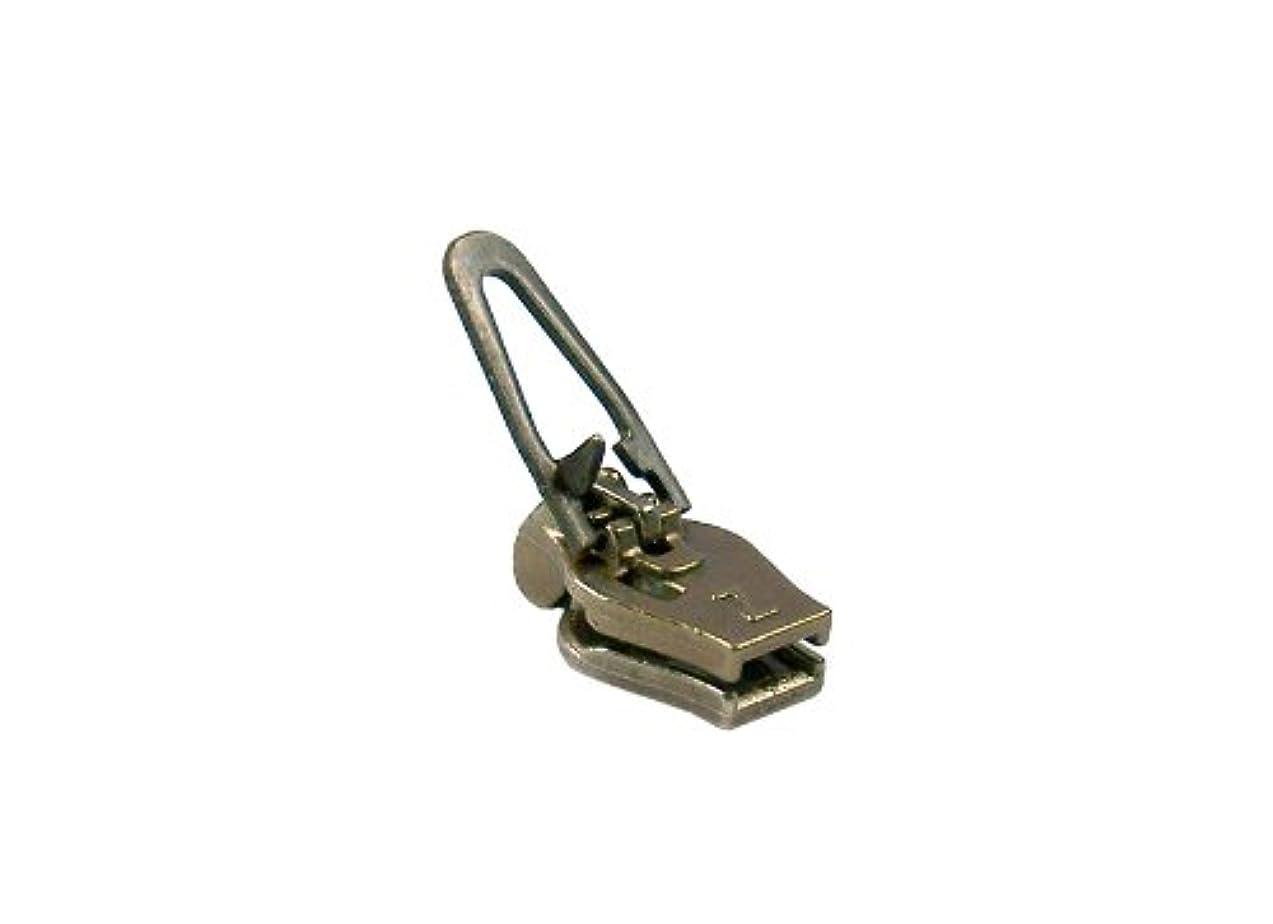 ZlideOn zipper 4c-2, old-brass