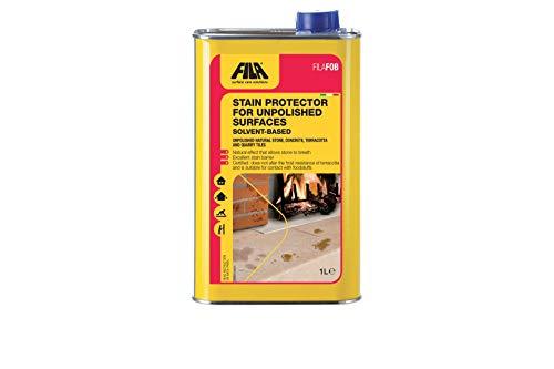 FILA Surface Care Solutions FILAFOB - Protector de manchas para superficies sin pulir, piedras naturales, hormigón, terracota, azulejos de cantera