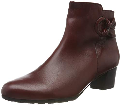 Gabor Damen Comfort Sport Stiefeletten, Rot (Dark-Red (Micro) 58), 37.5 EU