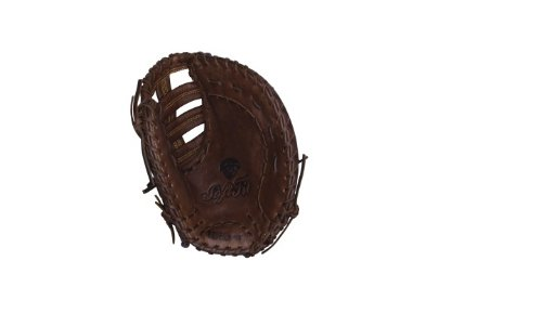 Wilson Game Ready Soft Fit First Base Baseball Glove (Brown), Left Hand Throw, 11.5'
