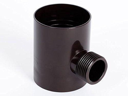Regensammler Eslon Ø 50 und 60 mm (Braun)