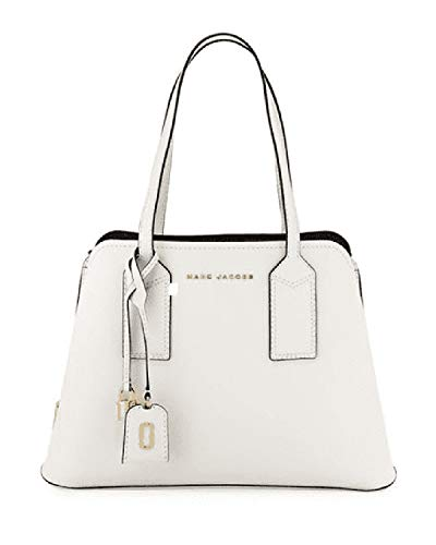 MARC JACOBS The Editor Leather Tote-Cotton Gold