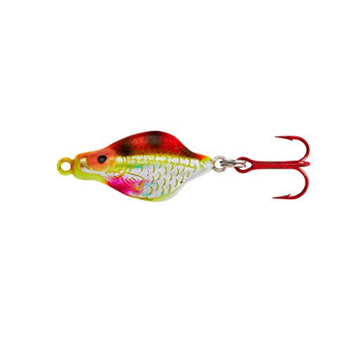 Lindy Rattl'N Flyer Spoon - Techni-Glo Perch - 1/4 oz