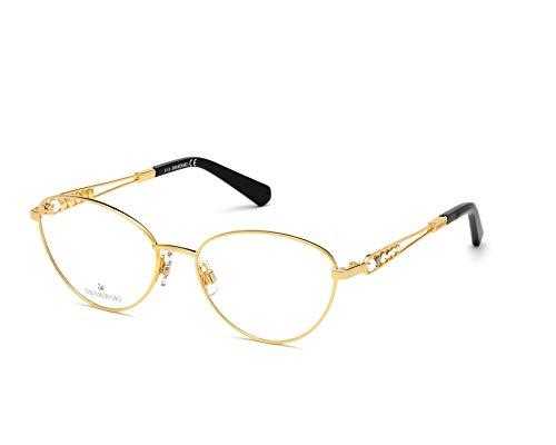 Occhiali da Vista Swarovski SK5342 030 54-16-140 donna oro lucido