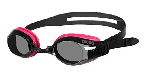 Arena Zoom X-Fit Gafas de Natación, Unisex Adulto, Negro (Pink-Smoke-Black), Universal