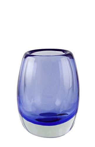 Kaheku Vase Mattia Kobaltblau Durchmesser 10,5 cm, Höhe 12 cm 1182002653