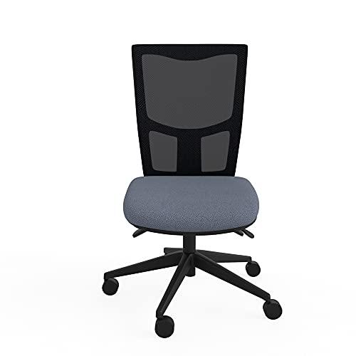 Response 300 - Sedia ergonomica per casa, ufficio, in tessuto grigio