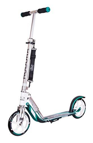 HUDORA 6956016014751 14751 BigWheel 205-Das Original mit RX Pro Technologie-Tret-Roller klappbar-City-Scooter, türkis