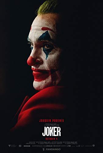 printdesign Joker - Movie Poster Wall Decor Cartel de la película - 45 X 70 cm