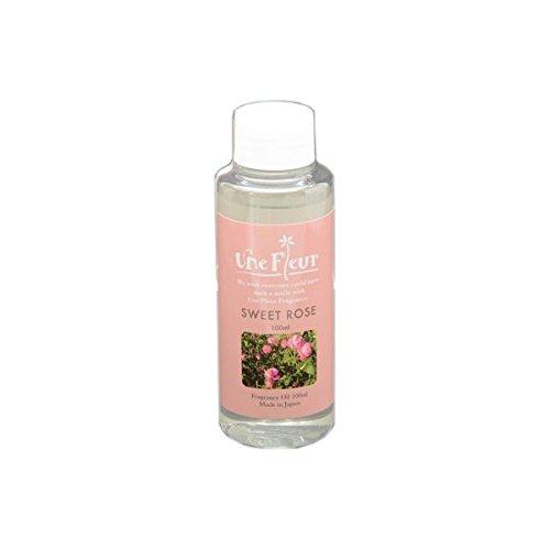 Aroma Japan Import Une Fleur Fragrance Oil Floral & Brend 100ml - Rose (Harajuku Culture Pack)