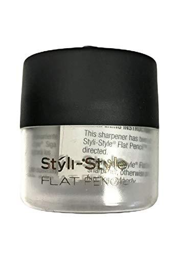 Styli-Style Flat Pencil Sharpener Grey