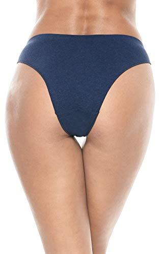 ATTRACO-Womens-Cotton-Underwear-Lace-Hipster-Panties-Stretch-Bikini-Panty-Thongs