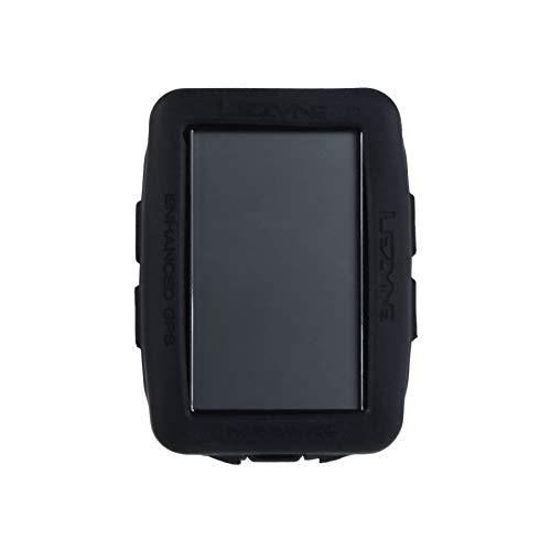 【日本正規品】 LEZYNE(レザイン)サイクルコンピューター専用カバー メガ XL GPSサイクルコンピュータ専用カバー [MEGA XL GPS COVER] ブラック シリコン素材  2年保証 