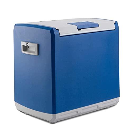 H.Slay Mini frigorífico SHKUU, Mini frigorífico 30L Caja de refrigeración y calefacción para Coche Refrigeración de Doble Uso para el Coche y el hogar Calefacción Duradera