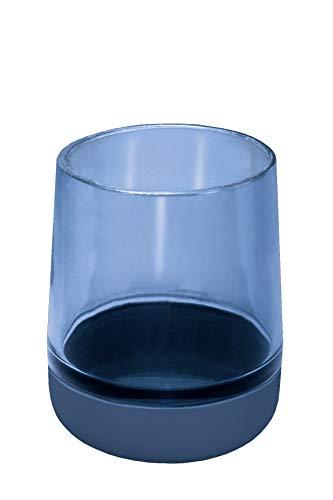 Kleine Wolke Belly - Vaso para cepillos de Dientes (Cristal y Silicona),...