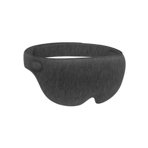 zhangchao Beheizte Augenmaske, Elektrische USB-Schlafmaske,Einstellbare Temperatur-Zeitsteuerung,Mit Angenehmer Massage,Augenmaske Für Geschwollene Augen, Trockene, Müde Augen Und Augenringe,Darkgray