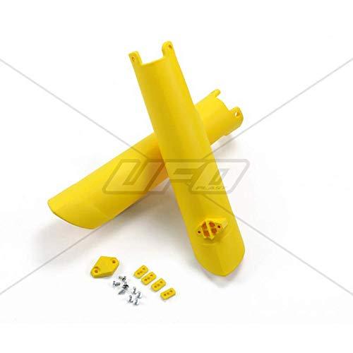UFO - Protections Fourches Jaune Compatible Husqvarna 125 250 350 450 FC/TC 15-17