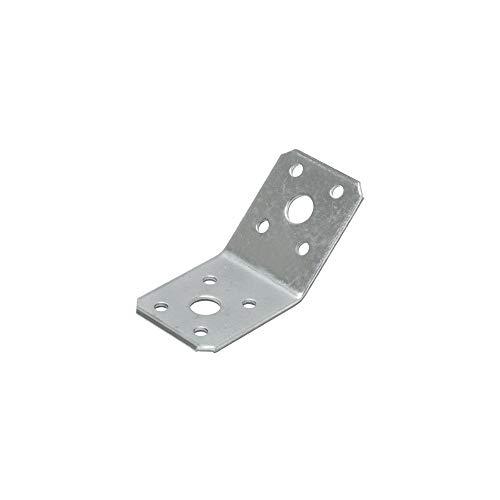 Winkelverbinder 135 Grad 50 X 50 X 35 X 2,5 mm Stahl sendzimirverzinkt 4 Stück