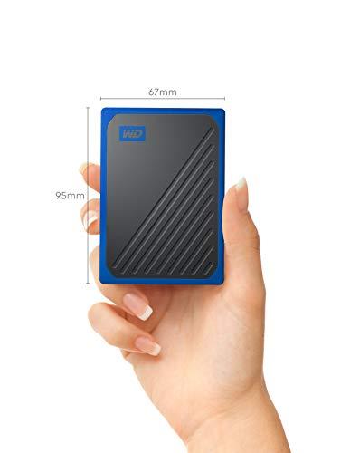 WD My Passport Go Portable 1 TB SSD, kobaltrand
