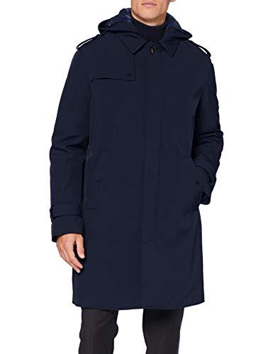 Sisley Men's Coat Jacket, Blu 016, 52