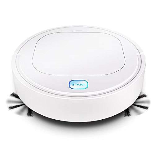 MCAA Blanco Inteligente Limpiador de Pisos Robot Inteligente Aspirador anticolisión Recargable 1800Pa Fregadero de navegación automática barredora automática