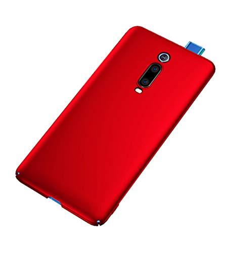 """XunEda Xiaomi Mi 9T, Xiaomi Mi 9T PRO 6.39 """"Cover Case, Anti-slip Hard PC Case Protective Cover + Case Protective Film for Xiaomi Mi 9T, Xiaomi Mi 9T PRO Smartphone (Red)"""