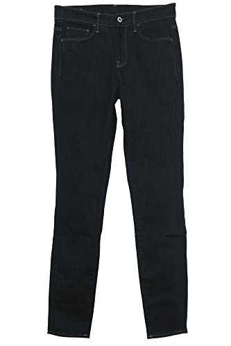 G-STAR RAW 3301 Deconstructed Ultra High Waist Super Skinny Jeans, Azul (Raw Denim 7209-001), 26W / 34L para Mujer