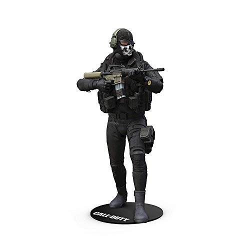 McFarlane 10401 - Figura Ghost Call of Duty, Multicolor