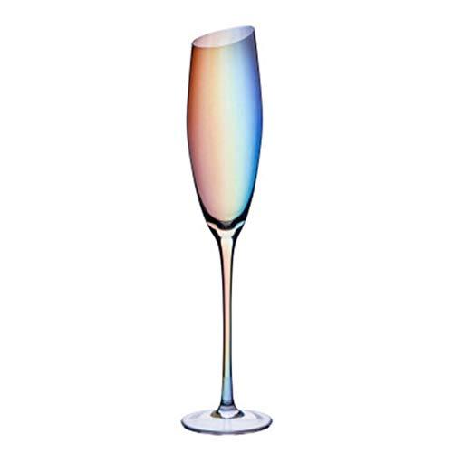 Copa de vino tinto de 10 onzas, 300 ml, cristal de alta calidad, perfecto para fiestas, bodas y regalos, juego de 2 (colorido vaso de vino) (color: 270 ml/9 onzas)