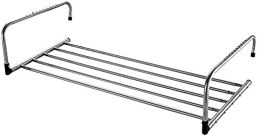 SSHA Tendedero De Pared Montado Enorme retráctil Enorme Capacidad de Capacidad de Secado de Aire Rack de Acero Inoxidable Secado Rack Rack Tack fácil de Instalar for baño Cocina Hotel 80 cm Tendedero
