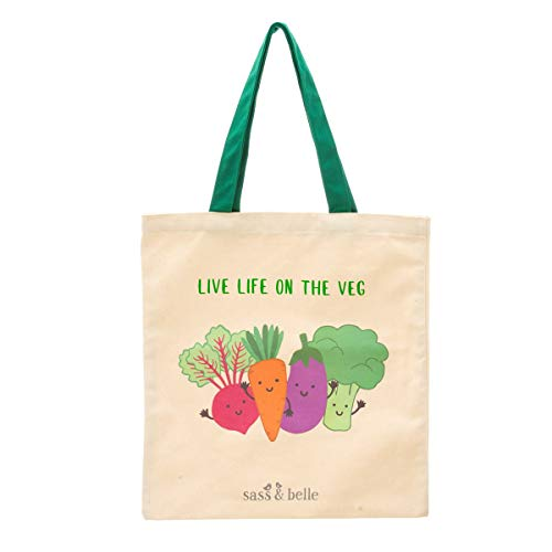 Sass & Belle Live Life On The Veg - Bolso de mano