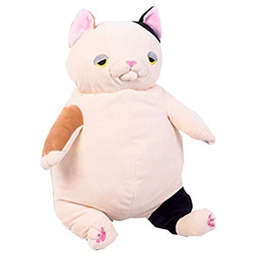 SMEJS Peluches, muñecas de Gato Lindo, muñecas de Trapo Divertidas, Regalos for niñas y niños (Color : A)