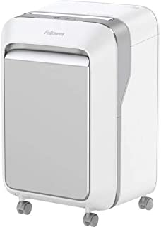 Fellowes Powershred LX210 Micro Cut Shredder - Micro Cut - 16 Per Pass - for shredding Paper, Credit Card, Paper Clip - 0....