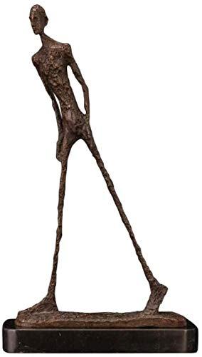 Skulptur,Figur Tier Giacometti Bronze Skulptur Abstrakte Wandelnde Mann Statue Dekorative Skulptur