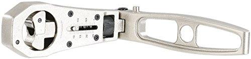 AGT Ratsche: Ratschenschlüssel mit verstellbarem Durchmesser von 8-25 mm (Knarre)