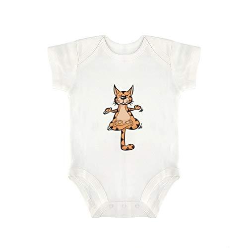 DKISEE Body divertido para yoga y gato, para meditación, para bebé, niño y niña