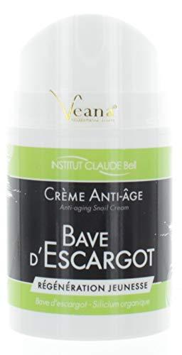 Bave D´Escargot krem do pielęgnacji twarzy (50 ml) krem ślimakowy z naturalną alantoiną, kolagenem i elastyną – błękit ślimakowy