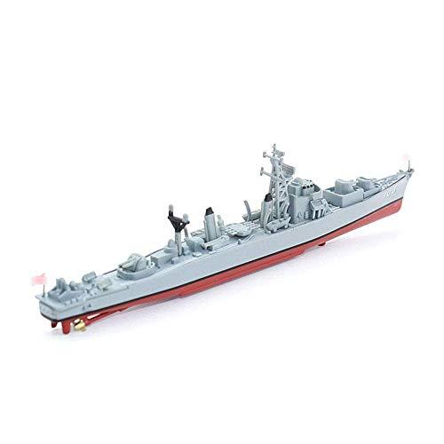 JHSHENGSHI Militärisches Plastikmodell im Maßstab 1:900, japanische Selbstverteidigungstruppe Aya Wave Class Destroyer Home Decorations