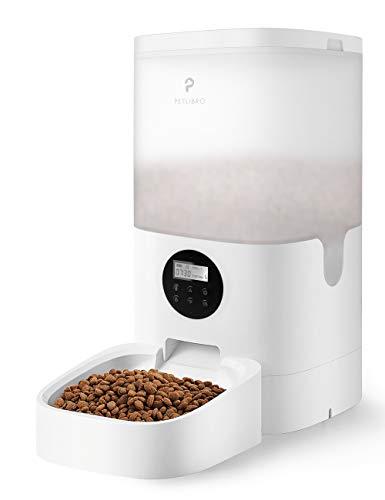 TOPPIN Alimentador automático para gatos, Petlibro, dispensador de comida para perros, gatos, control de porciones, 1 a 4 comidas por...