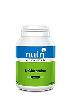 L-Glutamine 500mg 90 Caps by Nutri Advanced - High Strength Amino Acid