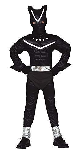 Fiestas Guirca Kind zwart panter kostuum voor cosplay vermomming