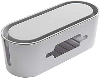 qwess Boîte De Rangement en Fil Rangée De Bureau Plug-in Organisateur De Câble Prise De Charge Domestique Alimentation De ...
