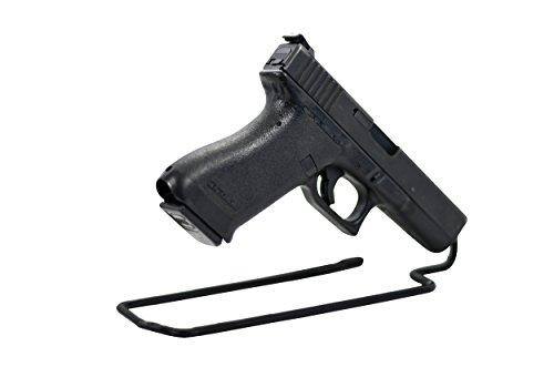 BOOMSTICK Gun Accessories Stand Style Vinyl Coated Metal Handgun Pistol Rack (Pack of 3)