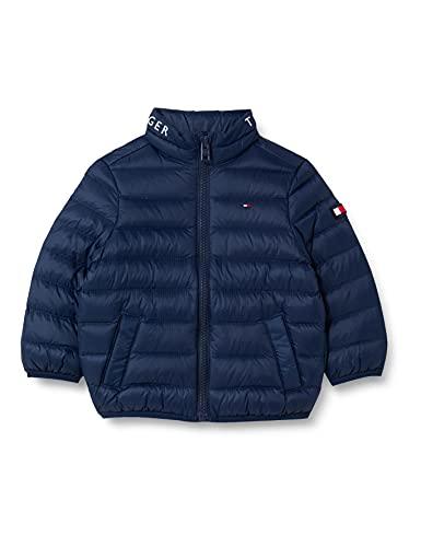 Tommy Hilfiger Unisex Kinder Light Down Jacket Jacke, Marineblau (Twilight Navy), 16 Jahre